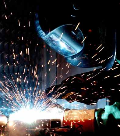 industry metal fire radio